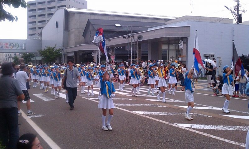 柏崎マーチングバンドパレード